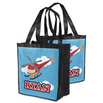 Helicopter Grocery Bag (Personalized)