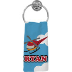 Helicopter Hand Towel - Full Print (Personalized)
