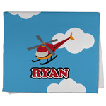 Helicopter Kitchen Towel - Full Print (Personalized)