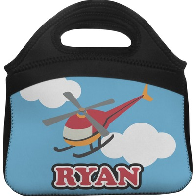Helicopter Lunch Tote (Personalized)
