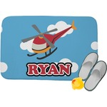 Helicopter Memory Foam Bath Mat (Personalized)