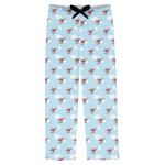 Helicopter Mens Pajama Pants (Personalized)