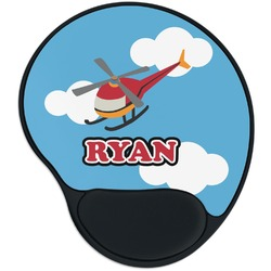 Helicopter Mouse Pad with Wrist Support