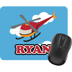 Helicopter Rectangular Mouse Pad (Personalized)