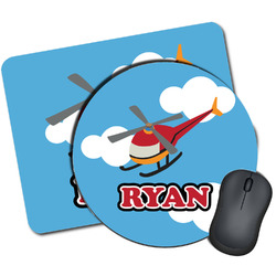 Helicopter Mouse Pads (Personalized)