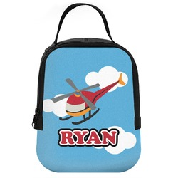 Helicopter Neoprene Lunch Tote (Personalized)