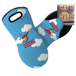Helicopter Neoprene Oven Mitt (Personalized)