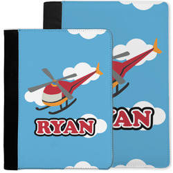 Helicopter Notebook Padfolio w/ Name or Text