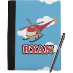 Helicopter Notebook Padfolio (Personalized)