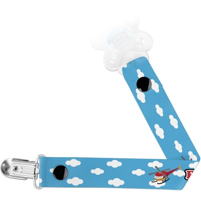 Helicopter Pacifier Clips (Personalized)