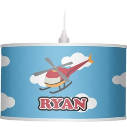 Helicopter Drum Pendant Lamp (Personalized)
