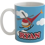 Helicopter Coffee Mug (Personalized)