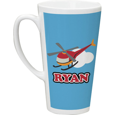 Helicopter Latte Mug (Personalized)