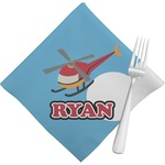Helicopter Napkins (Set of 4) (Personalized)