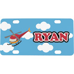 Helicopter Mini / Bicycle License Plate (Personalized)