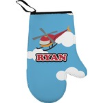 Helicopter Right Oven Mitt (Personalized)