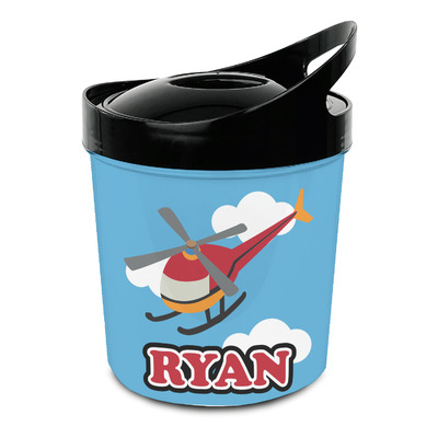 Helicopter Plastic Ice Bucket (Personalized)