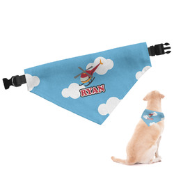 Helicopter Dog Bandana (Personalized)