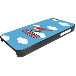 Helicopter Plastic iPhone 5/5S Phone Case (Personalized)