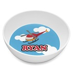 Helicopter Melamine Bowl 8oz (Personalized)