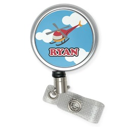 Helicopter Retractable Badge Reel (Personalized)