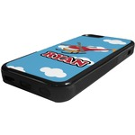 Helicopter Rubber iPhone 5C Phone Case (Personalized)