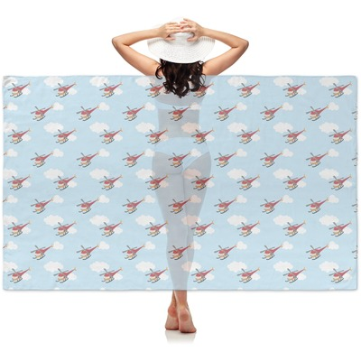 Helicopter Sheer Sarong (Personalized)