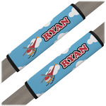Helicopter Seat Belt Covers (Set of 2) (Personalized)