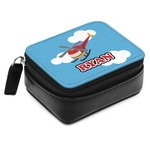 Helicopter Small Leatherette Travel Pill Case (Personalized)