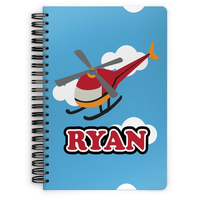Helicopter Spiral Notebook (Personalized)