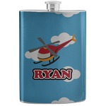 Helicopter Stainless Steel Flask (Personalized)