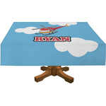 Helicopter Rectangle Tablecloth (Personalized)