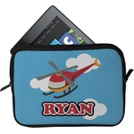 Helicopter Tablet Case / Sleeve (Personalized)