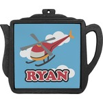 Helicopter Teapot Trivet (Personalized)