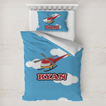 Helicopter Toddler Bedding w/ Name or Text