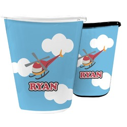 Helicopter Waste Basket (Personalized)