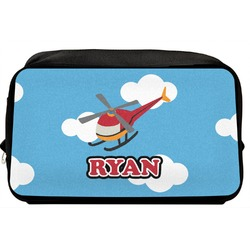 Helicopter Toiletry Bag / Dopp Kit (Personalized)