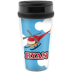Helicopter Travel Mugs (Personalized)