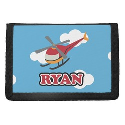 Helicopter Trifold Wallet (Personalized)