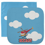 Helicopter Facecloth / Wash Cloth (Personalized)