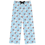 Helicopter Womens Pajama Pants (Personalized)