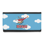 Helicopter Leatherette Ladies Wallet (Personalized)