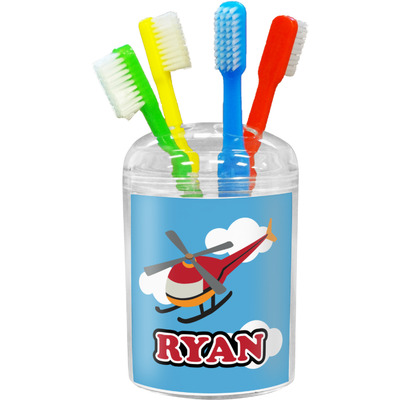 Helicopter Toothbrush Holder (Personalized)