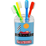 Race Car Toothbrush Holder (Personalized)