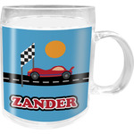 Race Car Acrylic Kids Mug (Personalized)