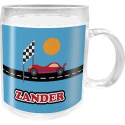 Race Car Acrylic Kids Mug (Personalized)