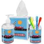 Race Car Bathroom Accessories Set (Personalized)