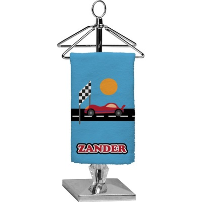 Race Car Finger Tip Towel - Full Print (Personalized)