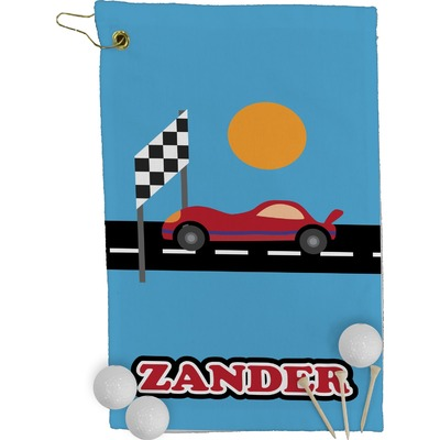 Race Car Golf Towel - Full Print (Personalized)