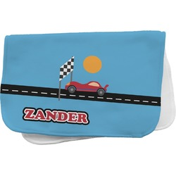 Race Car Burp Cloth (Personalized)